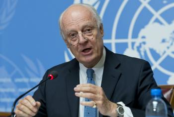 The United Nations Special Envoy for Syria, Staffan de Mistura, is calling for humanitarian access to all besiged areas in the wartorn country.
