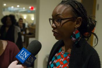 Hindou Oumarou Ibrahim, of the Indigenous Women and Peoples Association of Chad.