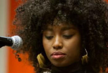 Malian singer Inna Modja.