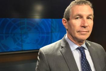 Peter de Clercq, UN humanitarian coordinator in Somalia, at the UNTV studios in New York.