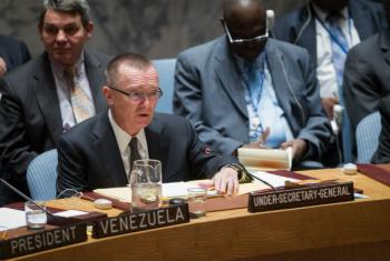 Jeffrey Feltman, Under-Secretary-General for Political Affairs, presents to the Security Council the report of the Secretary-General on the threat posed by ISIL to international peace and security and the range of United Nations efforts in support of Memb