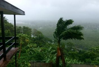 Suva, Fiji, ahead of Cyclone Winston's landfall. The cyclone was upgraded to a category 5 on Friday 19 February as it made its way across the Pacific region, having already impacted Tonga.