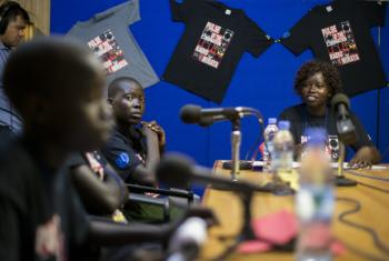 Children's Peace Day Debate on Radio Miraya.