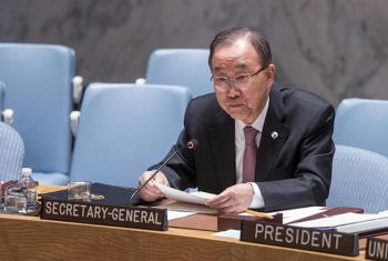 Secretary-General Ban Ki-Moon addresses Security Council meeting on counter-terrorism.