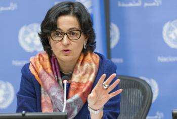 Arancha Gonzalez, Executive Director of the International Trade Centre (ITC). UN File Photo/Paulo Filgueiras