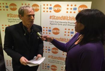Singer Michael Bolton spoke to UN Radio's Dianne Penn.
