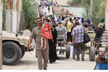 An increasing number of people, including families with children and the elderly, have encountered deadly ambushes as they try to escape areas controlled by the Islamic State of Iraq and the Levant (ISIL).