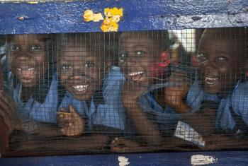 Students in Liberia.