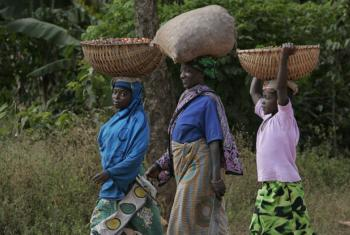Women in Tanzania.
