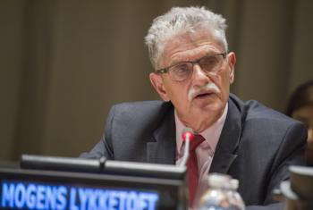 Mogens Lykketoft, President of the seventieth session of the General Assembly.