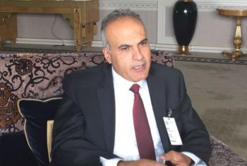 Khaled Quzmar, General Director of Defense for Children International-Palestine.