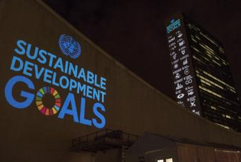 Ahead of the UN Sustainable Development Summit from 25-27 September, and to mark the 70th anniversary of the United Nations, a 10-minute film introducing the Sustainable Development Goals is projected onto UN Headquarters.