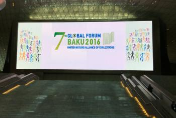 The 7th Global Forum of the United Nations Alliance of Civilizations (UNAOC) is taking place in Baku, Azerbaijan.