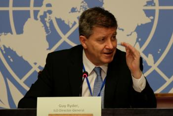 The global goal of ending poverty by 2030 is at risk from a deficit in quality jobs, according to Guy Ryder, Director-General of the International Labour Organization.
