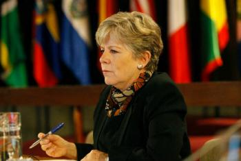 Alicia Bárcena, Executive Secretary of ECLAC.