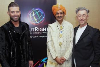 Omar Sharif Jr, Crown Prince of India Manvendra Singh Gohil, Alan Cumming.