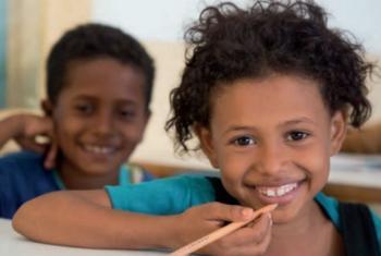 For children surviving emergencies, education is vital.