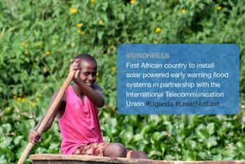 Uganda is part of the #LeastNotLast campaign.