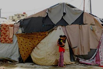 Many people have been forced to flee their homes Iraq, due to ongoing conflict September 2015.