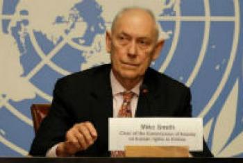 Mike Smith. UN Radio Photo/Daniel Johnson