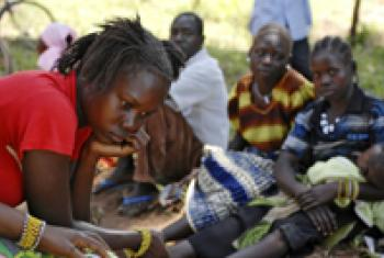 Civilians displaced by increasing LRA attacks.
