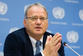 Christof Heyns, UN Human Rights Council Special Rapporteur on extrajudicial killings and the right to life. UN File Photo/Yubi Hoffmann