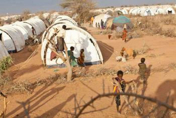 Somali refugees at Dadaab, which is located in north-east Kenya. Dadaab is the world's largest refugee camp complex. File