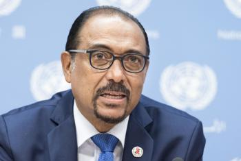 Michel Sidibé, Executive Director of UNAIDS.