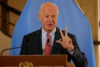 "Staffan de Mistura said that a third round of talks in Geneva could be called at ""any time"" but he wanted them to be effective and produce concrete results."