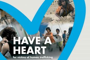 Blue Heart Campaign. Image: UNODC