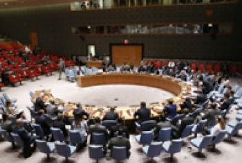 Security Council meeting: Peace and security in Africa.