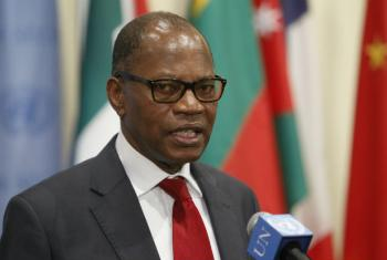 Mohammed Ibn Chambas, UN Special Representative and Head of the UN Office for West Africa (UNOWA). File