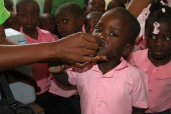 Cholera vaccination campaign 2016.