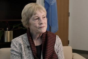 Karen AbuZayd, UN Special Adviser to the Secretary-General on the Summit on Addressing Large Movements of Refugees and Migrants.