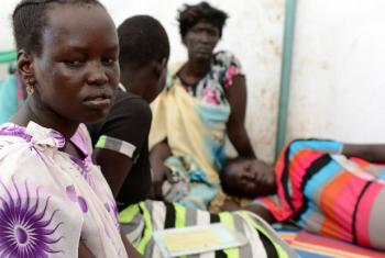 Survivors of sexual violence in South Sudan.