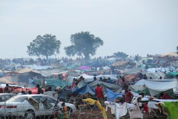 UNMISS provides protection to civilians fleeing recent violence in Wau.