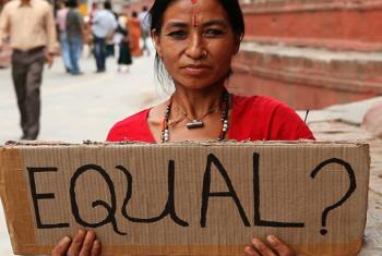 Economic inequality is also impacting on gender inequality. File