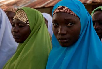 Women of Takalafiya-Lapai village (Niger State). File