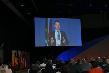 John Scanlon, Secretary-General of CITES, addressing #CoP17, the largest ever World Wildlife Conference, in Johannesburg, South Africa.