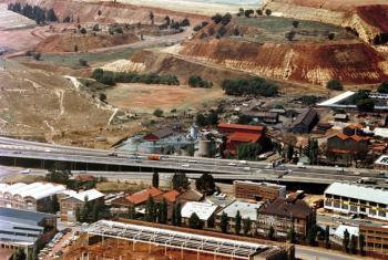 Mining in Africa.