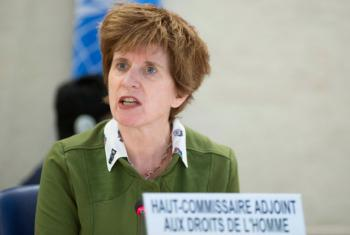 Kate Gilmore, Deputy UN High Commissioner for Human Rights.