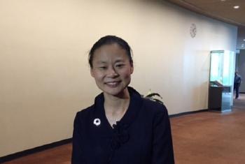 Midori, UN Messenger of Peace.