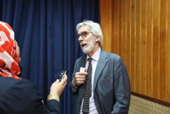 Mr. Ricardo Grassi, Senior advisor for communication and information, UNESCO Kabul