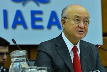 Yukiya Amano, Director General of the International Atomic Energy Agency (IAEA). (file)