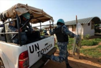 Peacekeepers of the UN Mission in South Sudan (UNMISS).