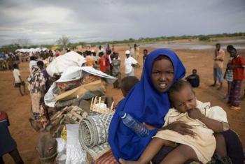 Refugees from Somalia.