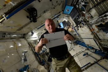 AstronautScott Kelly.