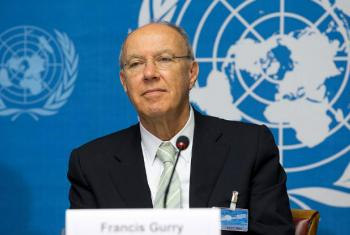 WIPO Director General Francis Gurry. File