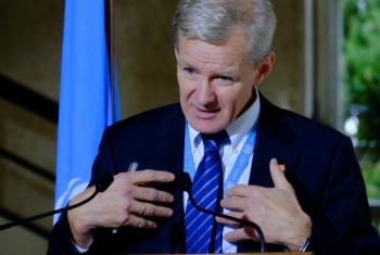 "UN Special Adviser Jan Egeland described his team working ""day and night"" on a plan to get aid into Eastern Aleppo."