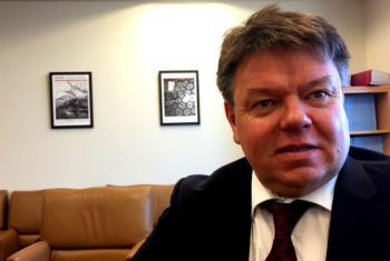 WMO Secretary-General Petteri Taalas.
